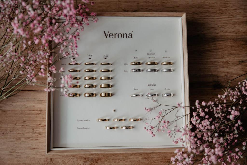 Jak wybrać obrączki ślubne, Verona obrączki, ślubne szepty