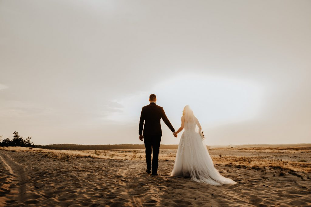 Sesja na Pustyni Błędowskiej | Plener ślubny | J & A 42