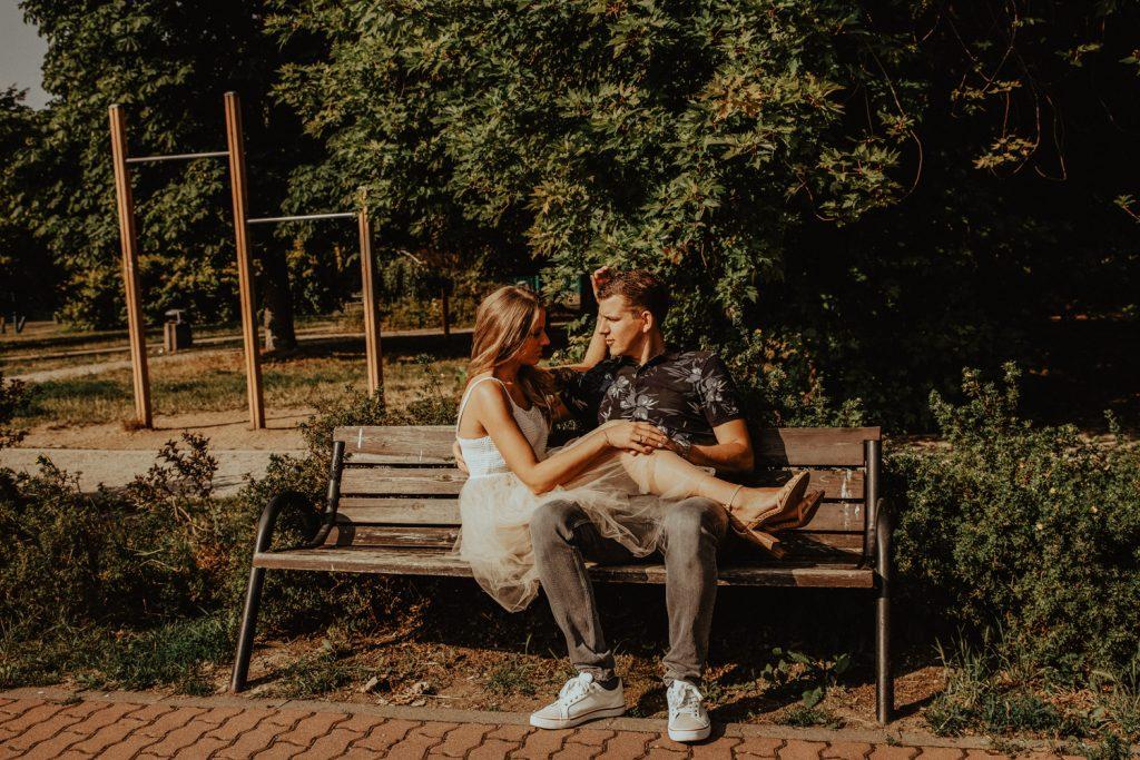 Sesja narzeczeńska   Park Szczęśliwicki Warszawa   Olga i Rafał 29