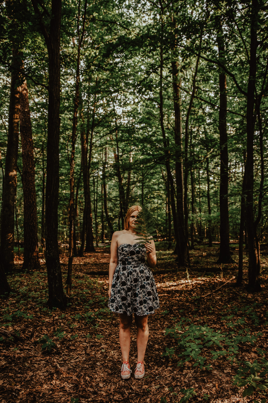 Zakochać się w lesie   Sesja narzeczeńska w lesie   Las w Warszawie 24