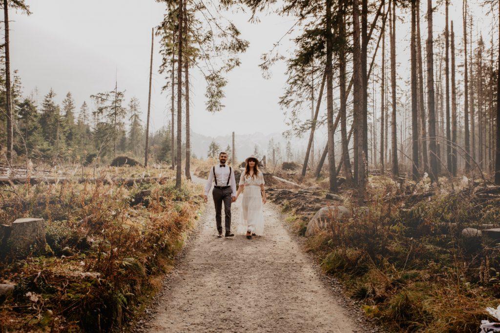 Sesja ślubna w górach 12