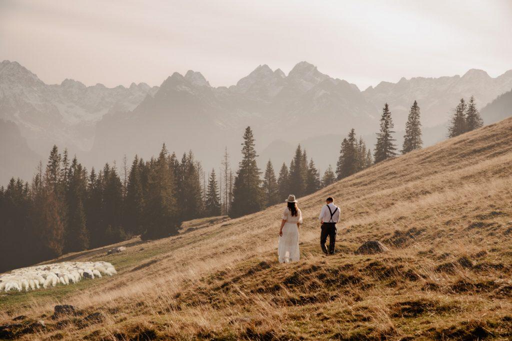 Sesja ślubna w górach 13