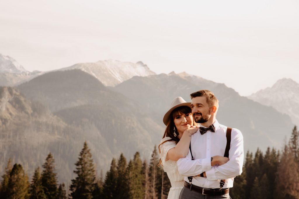 Sesja ślubna w górach 16