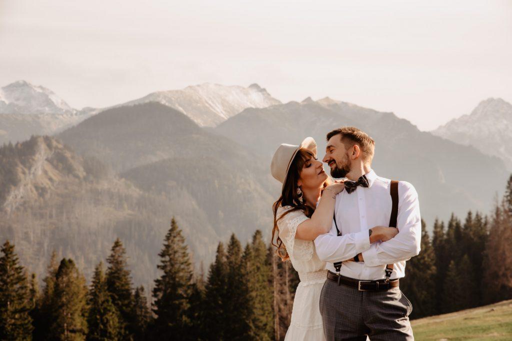Sesja ślubna w górach 17