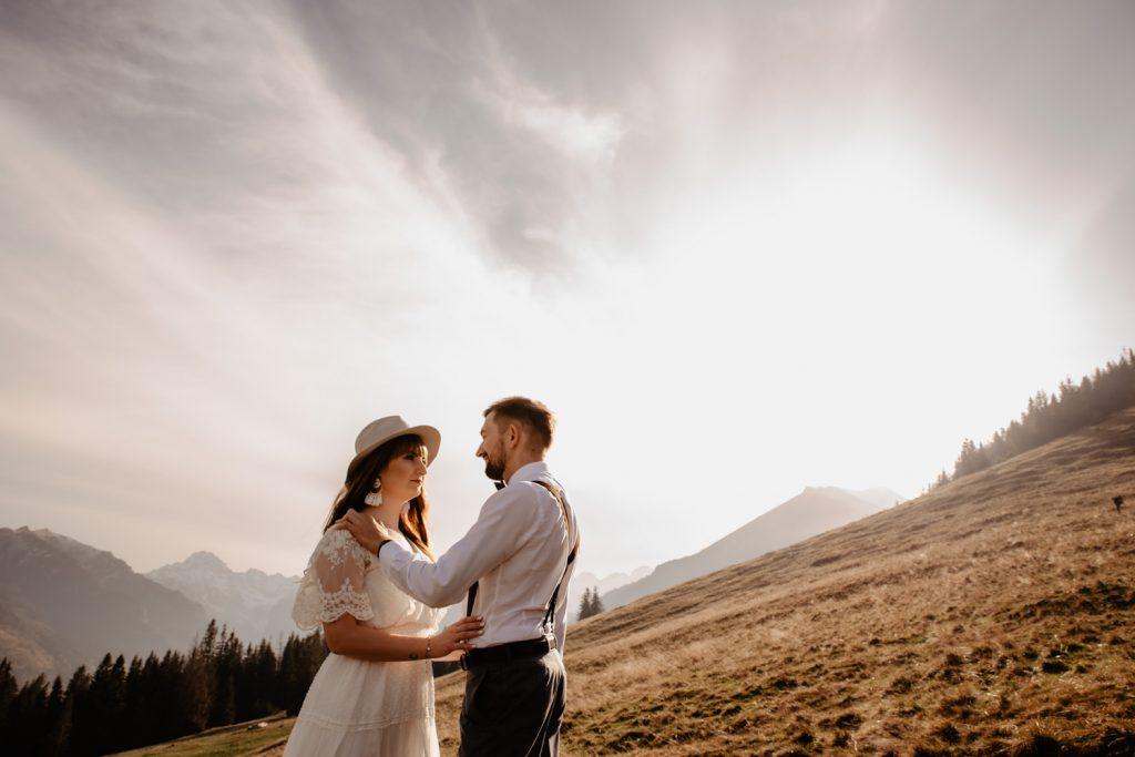 Sesja ślubna w górach 19