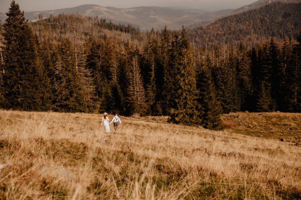 Sesja ślubna w górach 25