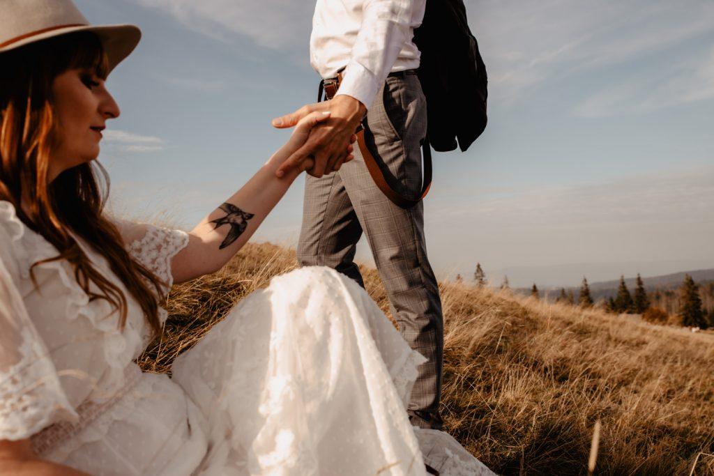 Sesja ślubna w górach 26