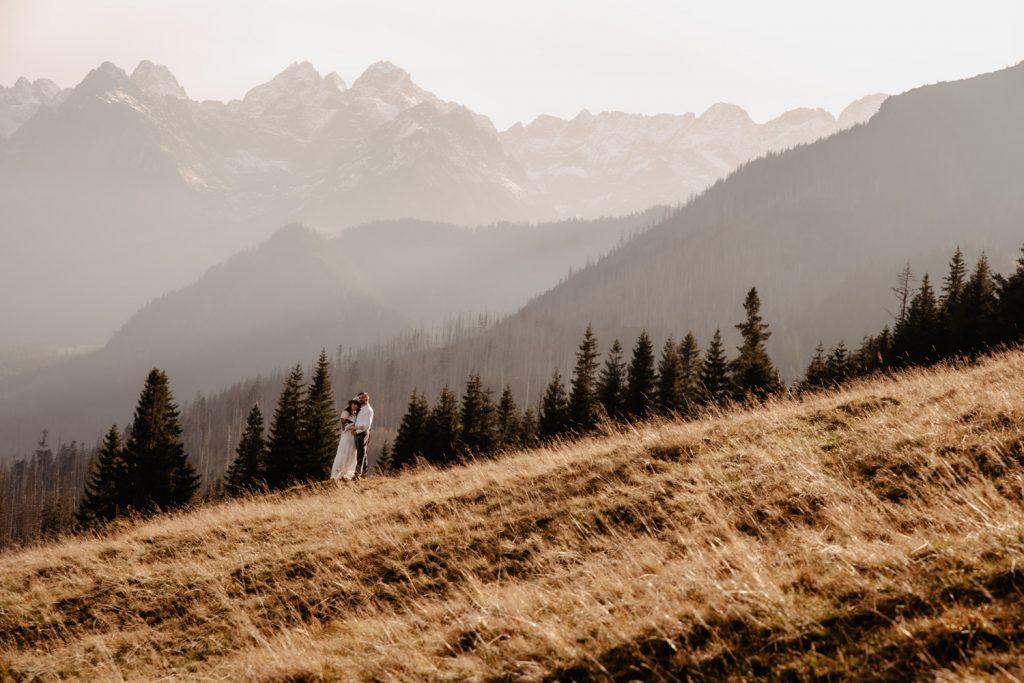 Sesja ślubna w górach 29