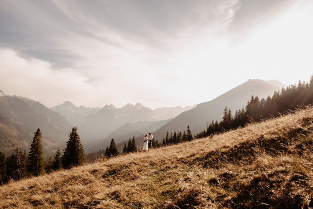 Sesja ślubna w górach 30