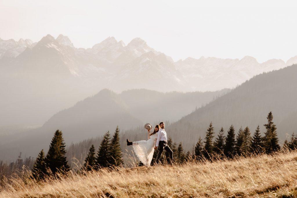 Sesja ślubna w górach 31
