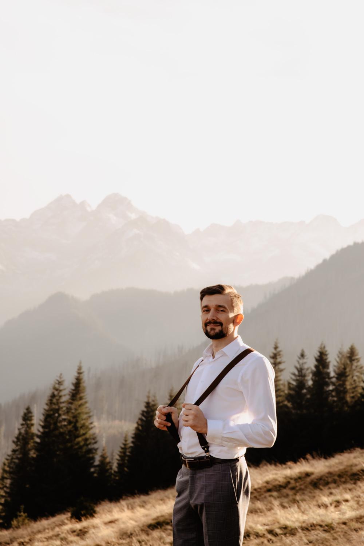 Sesja ślubna w górach 36