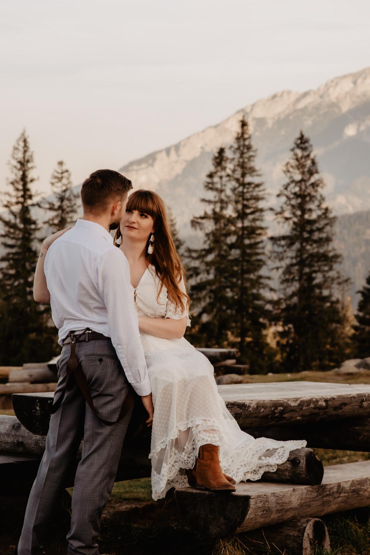 Sesja ślubna w górach 49