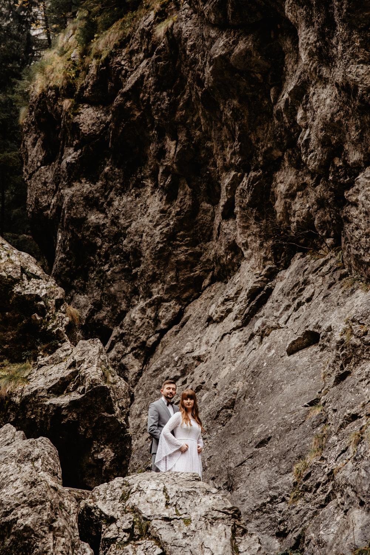 Sesja ślubna w górach 76
