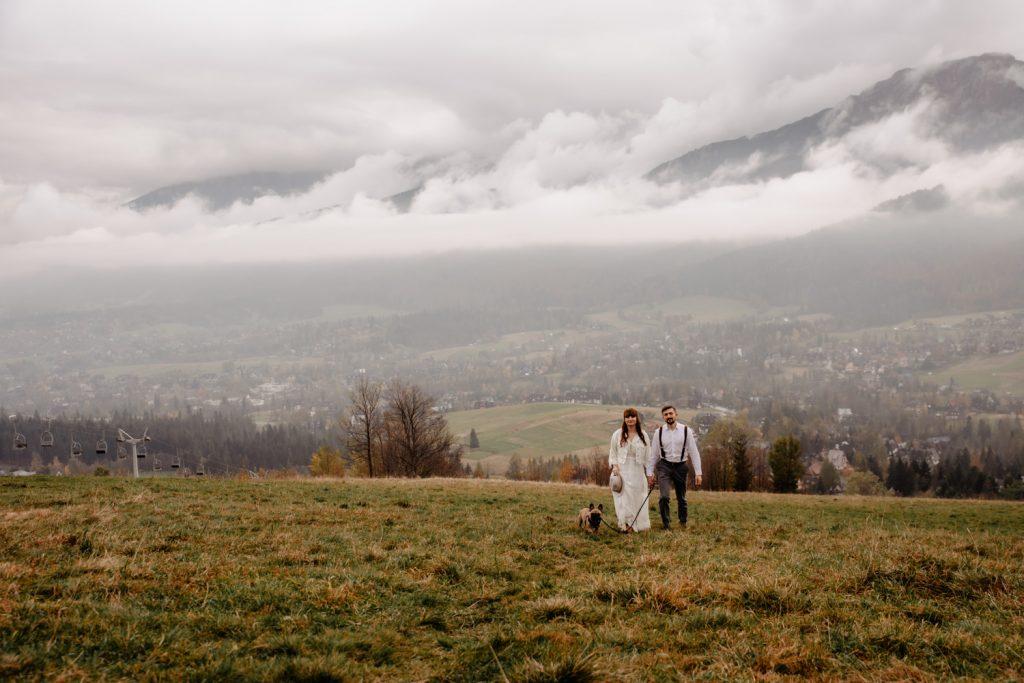 Sesja ślubna w górach 78