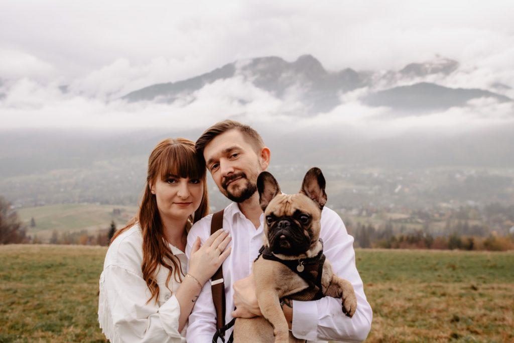 Sesja ślubna w górach 80