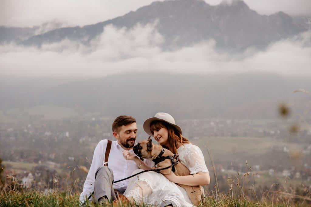 Sesja ślubna w górach 84