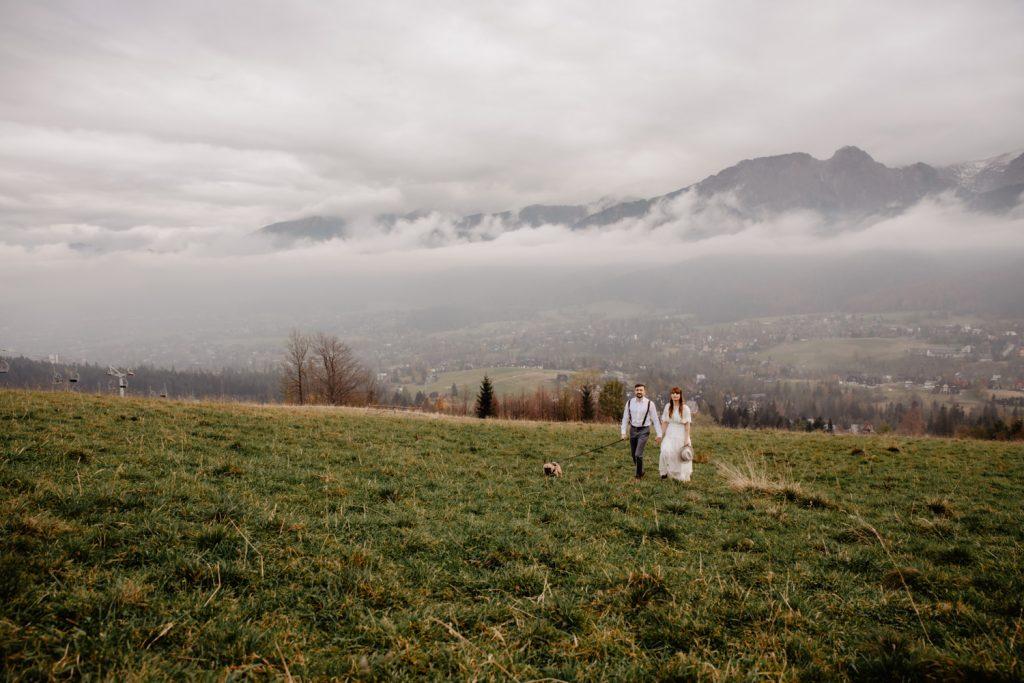 Sesja ślubna w górach 86