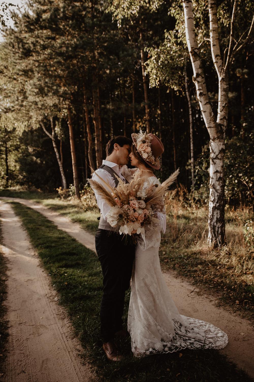 Ślub Boho | Sesja ślubna | Dom w Przepitkach 7