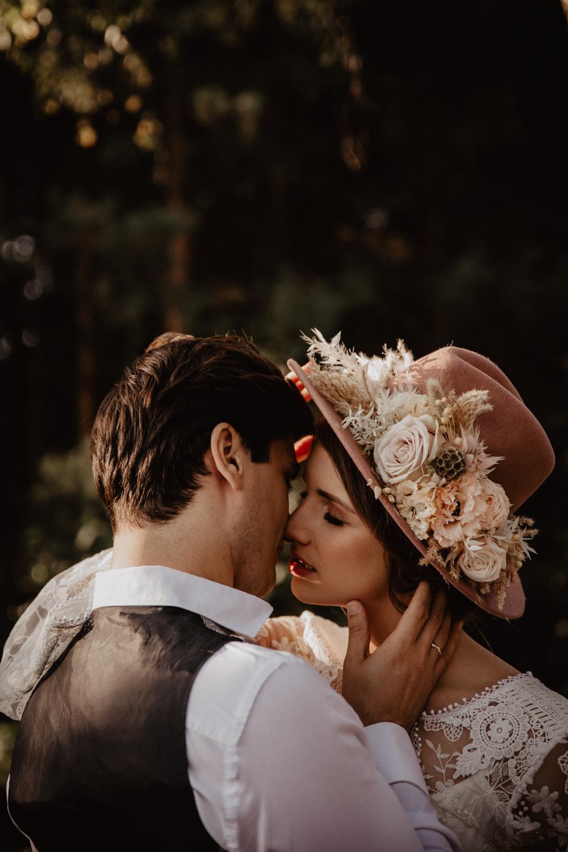 Ślub Boho | Sesja ślubna | Dom w Przepitkach 13