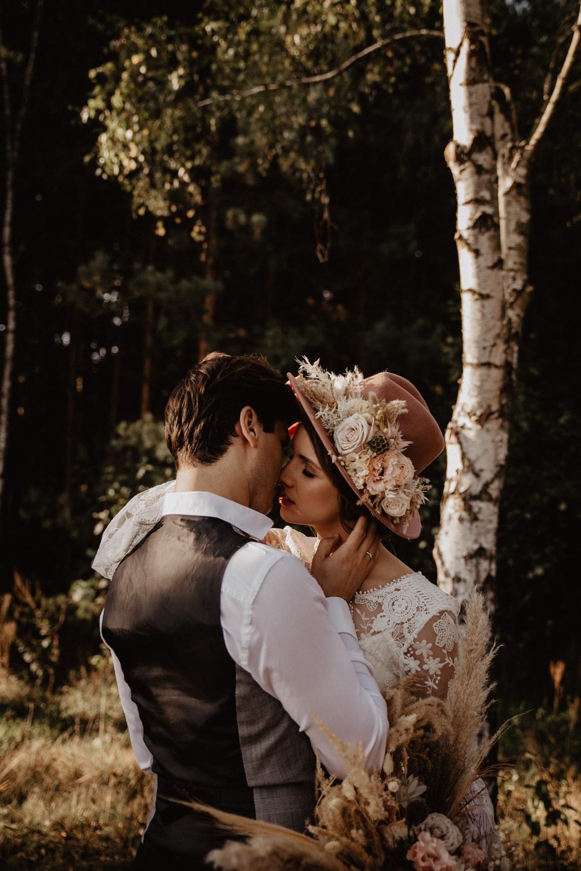 Ślub Boho | Sesja ślubna | Dom w Przepitkach 14