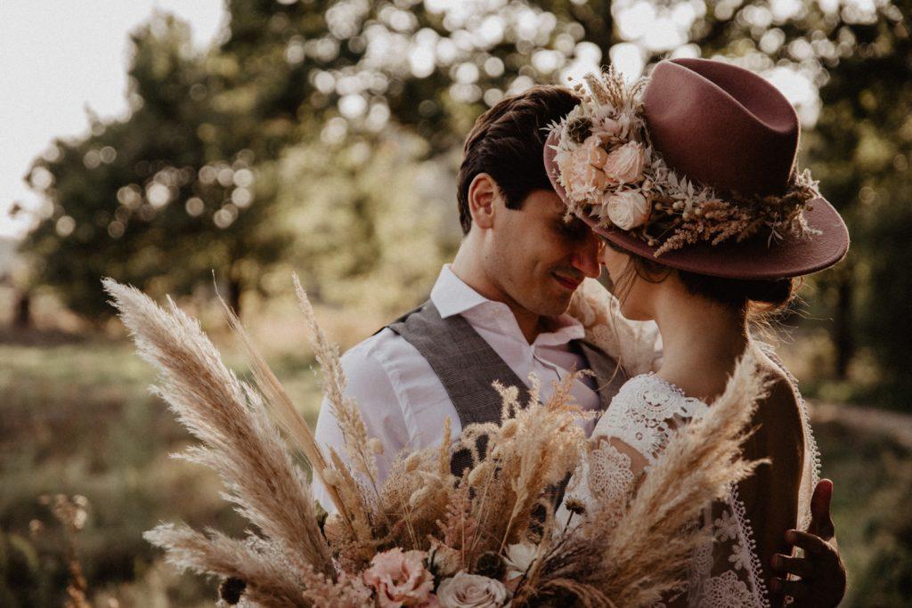 Ślub Boho | Sesja ślubna | Dom w Przepitkach 20