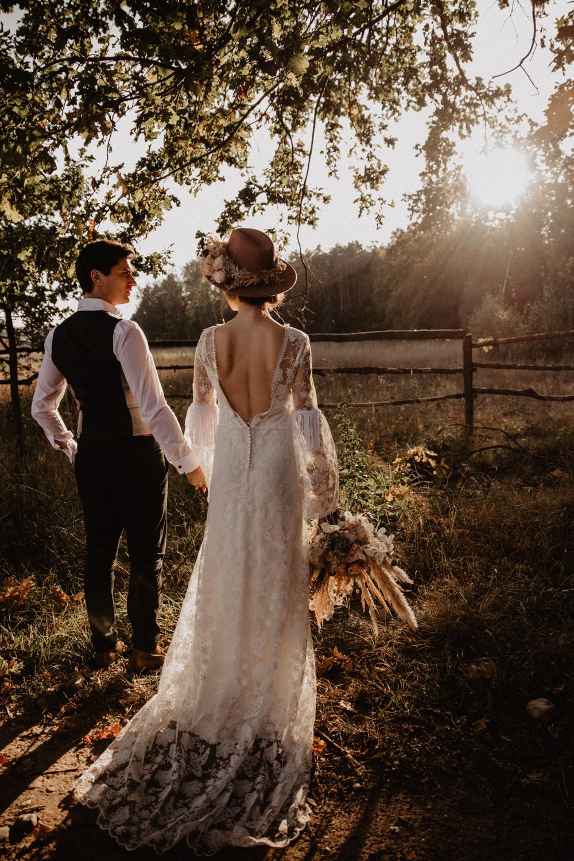 Ślub Boho | Sesja ślubna | Dom w Przepitkach 29