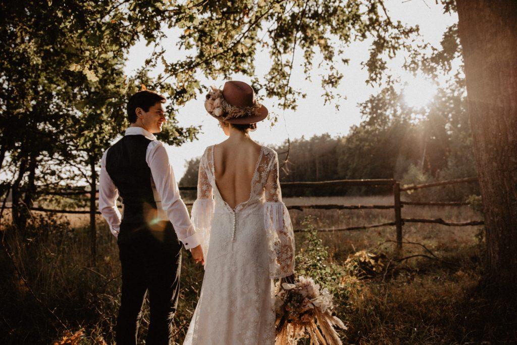 Ślub Boho | Sesja ślubna | Dom w Przepitkach 28