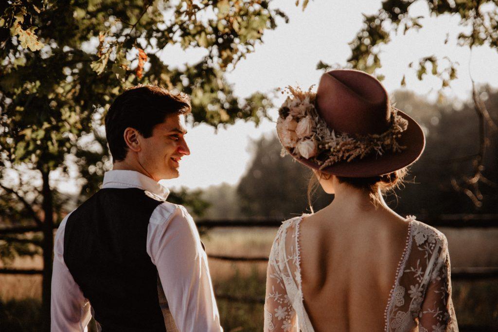 Ślub Boho | Sesja ślubna | Dom w Przepitkach 27