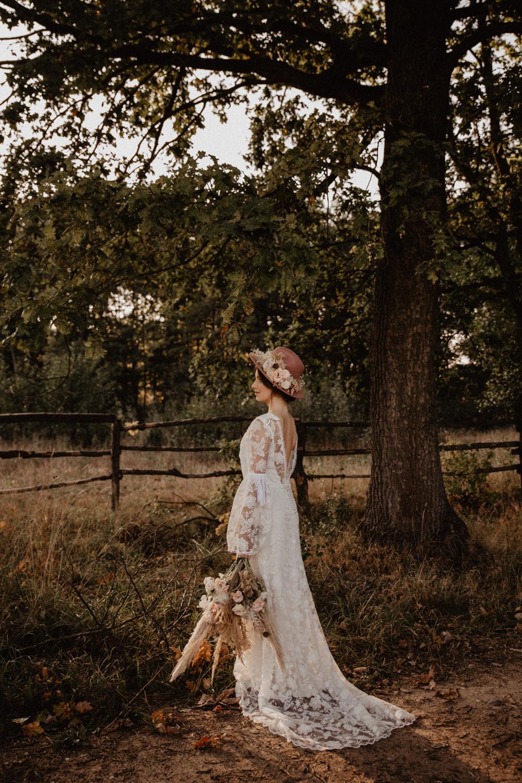 Ślub Boho | Sesja ślubna | Dom w Przepitkach 33