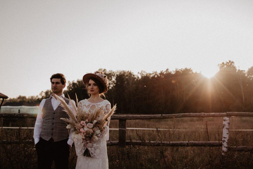 Ślub Boho | Sesja ślubna | Dom w Przepitkach 42