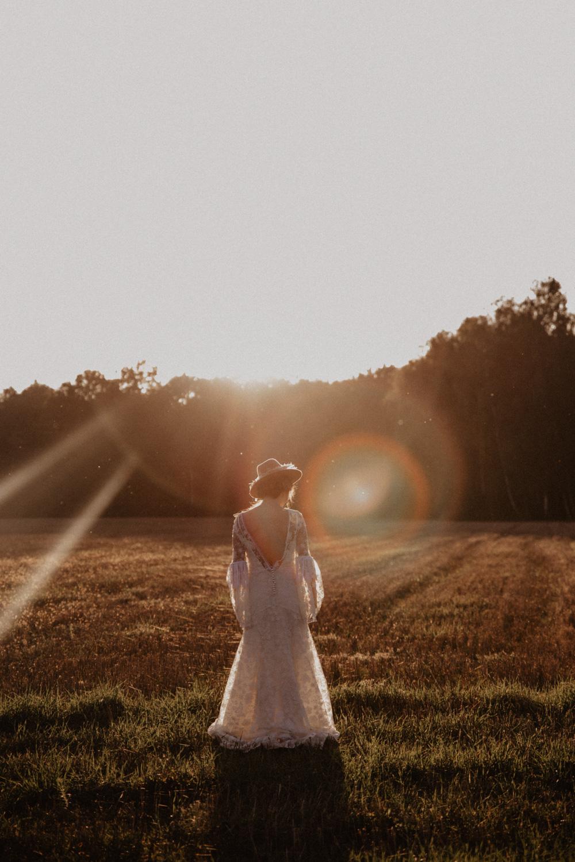 Ślub Boho | Sesja ślubna | Dom w Przepitkach 43