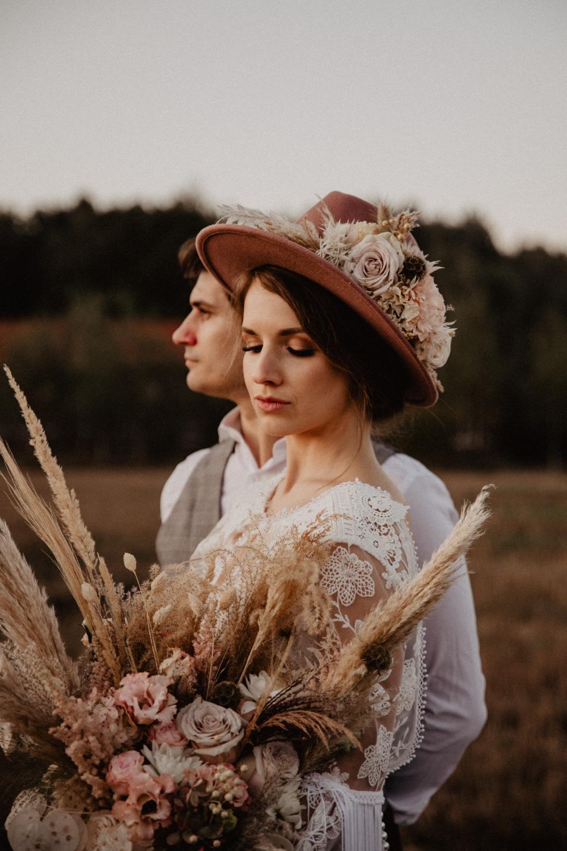 Ślub Boho | Sesja ślubna | Dom w Przepitkach 46
