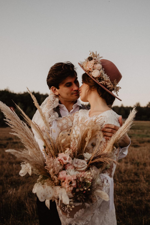 Ślub Boho | Sesja ślubna | Dom w Przepitkach 48