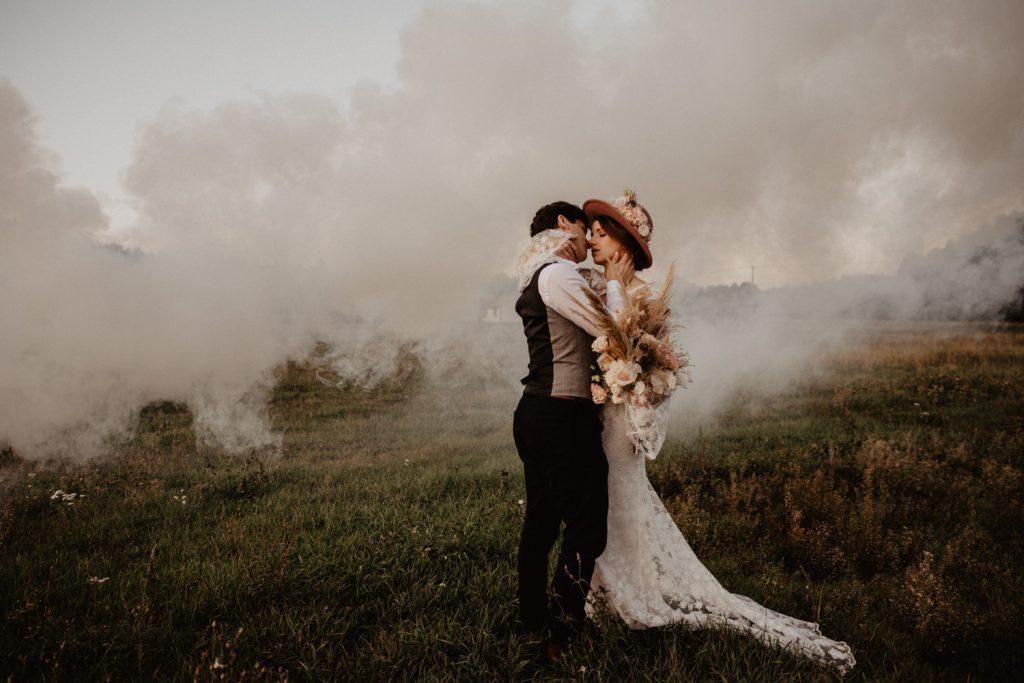 Ślub Boho | Sesja ślubna | Dom w Przepitkach 52