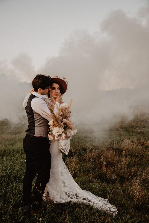 Ślub Boho | Sesja ślubna | Dom w Przepitkach 54