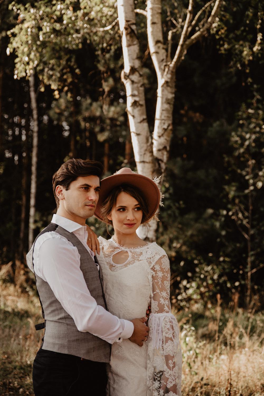 Ślub Boho | Sesja ślubna | Dom w Przepitkach 8