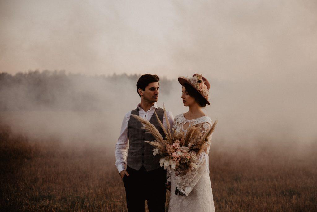 Ślub Boho | Sesja ślubna | Dom w Przepitkach 58