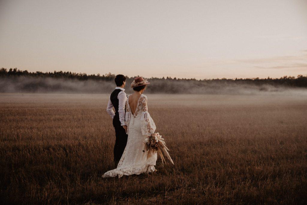 Ślub Boho | Sesja ślubna | Dom w Przepitkach 63