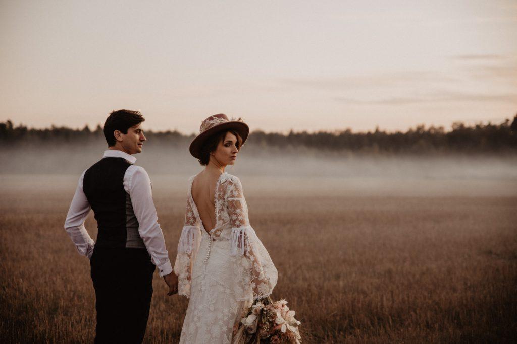 Ślub Boho | Sesja ślubna | Dom w Przepitkach 64