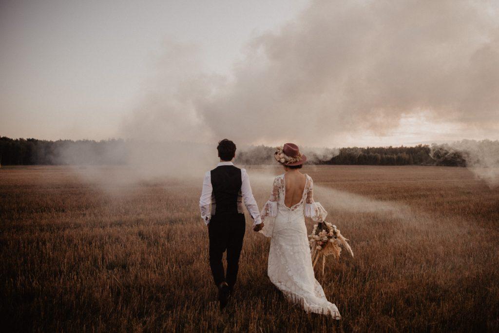 Ślub Boho | Sesja ślubna | Dom w Przepitkach 77