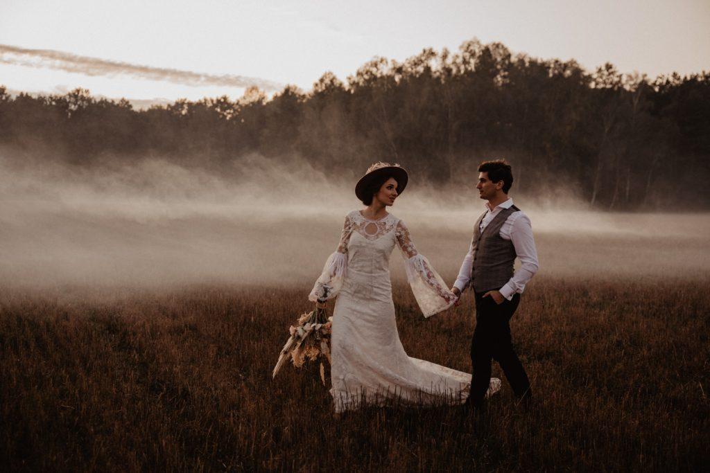 Ślub Boho | Sesja ślubna | Dom w Przepitkach 72