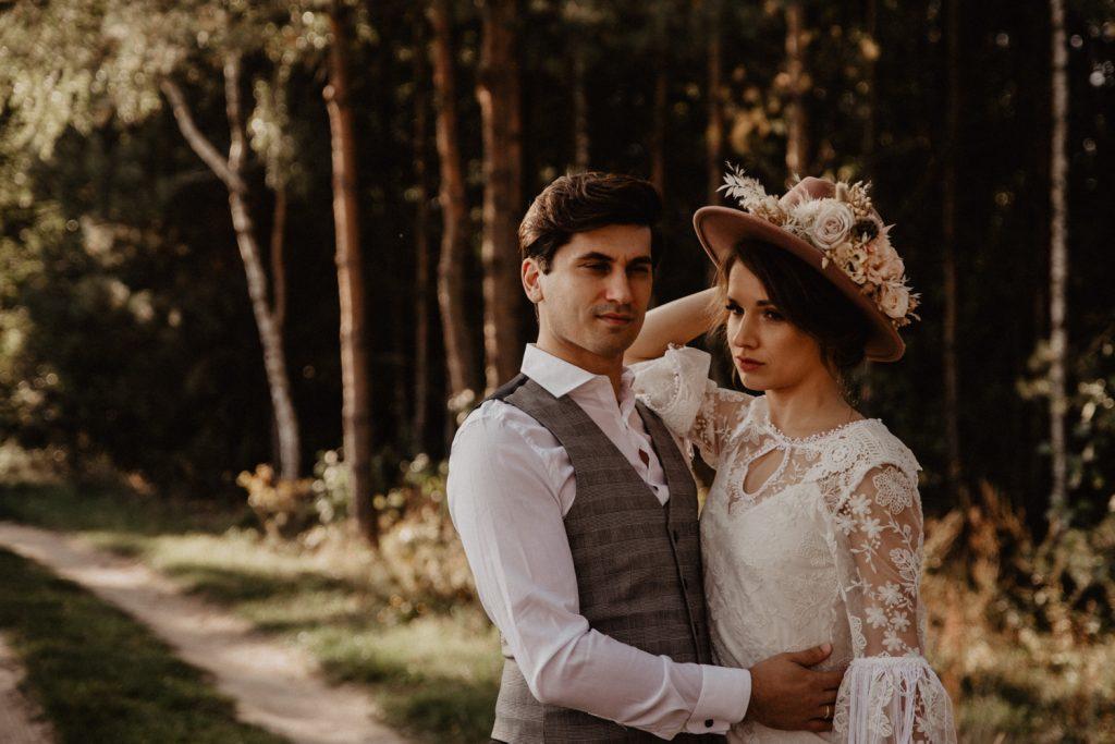 Ślub Boho | Sesja ślubna | Dom w Przepitkach 11