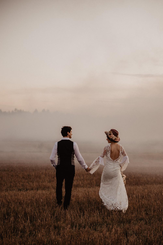 Ślub Boho | Sesja ślubna | Dom w Przepitkach 74